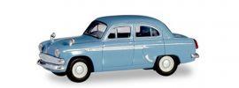 herpa 023672-004 Moskwitsch 403 pastellblau Automodell Spur H0 online kaufen