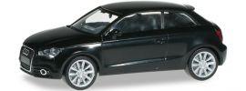 herpa 024310-003 Audi A1, brillantschwarz Automodell 1:87 online kaufen