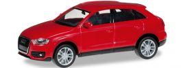 """herpa 024822-003 Audi Q3, """"brillantrot"""" Automodell 1:87 online kaufen"""