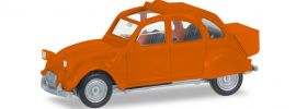 herpa 027632-004 Citroen 2 CV mit Queue orange Automodell 1:87 online kaufen