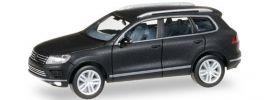herpa 027670 VW Touareg mattschwarz | Automodell 1:87 online kaufen