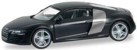 herpa 028240-003 Audi R8 Facelift schwarz Automodell 1:87 online kaufen