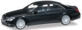 herpa 028288-002 MB S-Klasse nachtschwarz Automodell 1:87 online kaufen