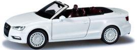 herpa 028301 Audi A3 Cabrio ibisweiß Automodell 1:87 online kaufen