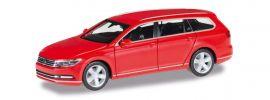 herpa 028424-003 VW Passat Variant rot | Automodell 1:87 online kaufen