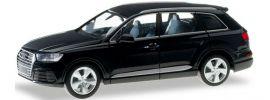 herpa 028448-002 Audi Q7 tiefschwarz | Automodell 1:87 online kaufen