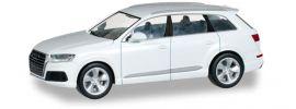 herpa 028448 Audi Q7 carraraweiß Modellauto 1:87 online kaufen