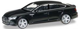 ausverkauft | herpa 028707 Audi A5 Sportback brillantschwarz | Automodell 1:87 online kaufen