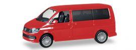 herpa 028738-002 VW T6 Multivan kirschrot Automodell 1:87 online kaufen