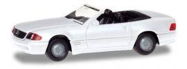 herpa 028851 Mercedes-Benz 500SL R129  weiss Automodell 1:87 online kaufen