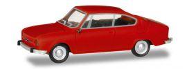 herpa 028875 Skoda 110R Coupe verkehrsrot Automodell 1:87 online kaufen