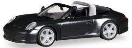 herpa 028905 Porsche 911 Targa 4S schwarz   Automodell 1:87 online kaufen