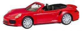 herpa 028929 Porsche 911 Turbo Cabrio indischrot Automodell 1:87 online kaufen