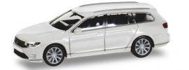 herpa 028981 VW Passat Variant B8 GTE E-Hybrid pure white Automodell 1:87 online kaufen
