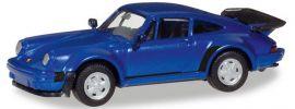 herpa 030601-002 Porsche 911 Turbo blaumetallic | Automodell 1:87 online kaufen
