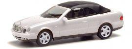 herpa 032582-002 MB CLK Cabrio silbermetallic | Automodell 1:87 online kaufen