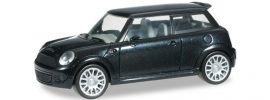 herpa 033626-002 Mini Cooper S (R56), blacksaphir Automodell 1:87 online kaufen