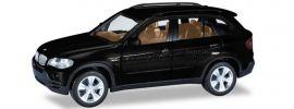 herpa 033695-004 BMW X5 E70 schwarzmetallic Automodell 1:87 online kaufen