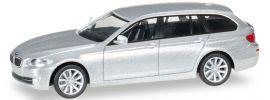 herpa 034401-005 BMW 5er Touring silber metallic | Automodell 1:87 online kaufen