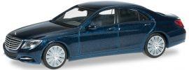 herpa 038287-002 MB S-Klasse (W222), canvastiblau Automodell 1:87 online kaufen