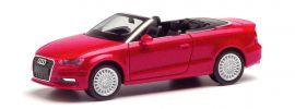 herpa 038300-002 Audi A3 Cabrio tangorot metallic   Automodell 1:87 online kaufen