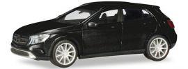 herpa 038317-002 MB GLA metallic schwarz | Automodell 1:87 online kaufen