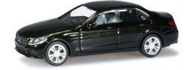herpa 038324 MB C-Kl (W205) Avantg. obsidianschwarz Modellauto 1:87 online kaufen