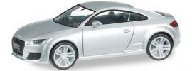 """herpa 038355 Audi TT met. """"eissilber"""" Automodell 1:87 online kaufen"""