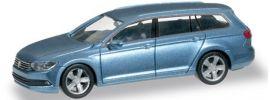 herpa 038423 VW Passat Variant harvardblau Automodell 1:87 online kaufen