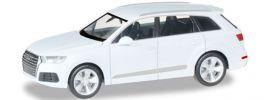 herpa 038447-003 Audi Q7 metallic gletscherweiss | Automodell 1:87 online kaufen