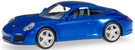 herpa 038522 Porsche 911 Carrera 2 saphierblau | Automodell 1:87 online kaufen