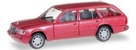 herpa 038553 MB E 320 T W124 rotmetallic | Automodell 1:87 online kaufen