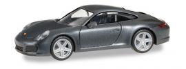 herpa 038645 Porsche 911 Carrera 4 achatgrau-metallic Automodell 1:87 online kaufen