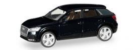 herpa 038676-003 Audi Q2  mythosschwarz-metallic Automodell 1:87 online kaufen