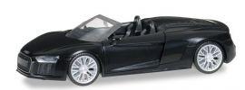 herpa 038690 Audi R8 Spyder mythosschwarz perleffekt Automodell 1:87 online kaufen