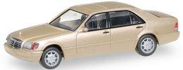 herpa 038775 MB S-Klasse V12 W140 champagner | Automodell 1:87 online kaufen