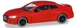 herpa 038805 Audi A5 Coupe Black Edition rot | Automodell 1:87 online kaufen