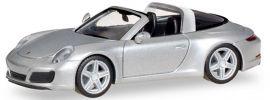 herpa 038904 Porsche 911 Targa 4S silber | Automodell 1:87 online kaufen