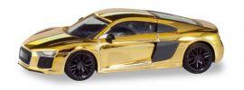 herpa 038973 Audi R8 V10 Plus goldglänzend Automodell 1:87 online kaufen