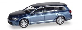 herpa 038980 VW Passat Variant B8  GTE E-Hybrid havardblue-metallic  Automodell 1:87 online kaufen