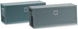 herpa 053600 Baucontainer grau 2 Stück Zubehör 1:87 online kaufen