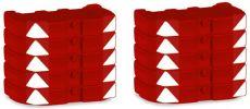 herpa 053792 Ballastgewichte LR 1600 rot 10x | Kran-Modell 1:87 online kaufen