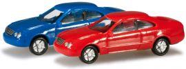 herpa 065146-002 N-PKW Set MB CLK, blau/rot Modellautos 1:160 online kaufen