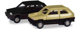 herpa 065962-002 2x Fiat Panda grünbeige schwarz | Automodell 1:160 online kaufen