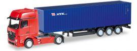 herpa 066471 Mercedes-Benz Actros Gigaspace ContainerSattelzug NYK LKW-Modell 1:160 online kaufen