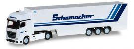 herpa 066501 Mercedes-Benz Actros Gigaspace KofferSzg Schumacher LKW-Modell 1:160 online kaufen