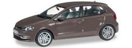 herpa 070829 VW Polo 5-Türer toffeebraun Automodell 1:43 online kaufen