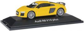 herpa 070928 Audi R8 V10 plus | gelb | Modellauto 1:43 online kaufen