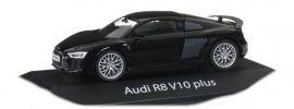 herpa 070935 Audi R8 V10 plus mythosschwarzmetallic Automodell 1:43 online kaufen