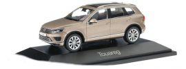 herpa 070959 VW Touareg sandgold metallic Automodell 1:43 online kaufen